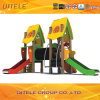 Campo de jogos ao ar livre Eqipment PE-22302 do HDPE das crianças