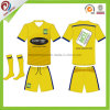 A qualidade tailandesa Sublimated barato o uniforme do futebol, futebol original personalizado Jersey do Sublimation do Sportswear