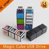 Movimentação plástica do flash do USB do cubo mágico da novidade (YT-1140)