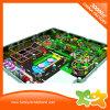 De multifunctionele BinnenApparatuur van de Speelplaats met Trampoline