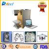 Bewegliche 10W 20W Faser-Laser-Markierungs-Maschinen-Zeichen-Ringe China