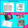 Decoração de jardim empurrador de Ferro Fundido personalizado / Gate / Corrimões Xm-Cid001