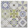Más colorea más azulejo que fluye de la flor del modelo del diseño para el comedor