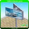 Autopista al aire libre de acero de Unipole de la fábrica de China que hace publicidad de la cartelera
