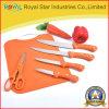 Разделочная доска PP при установленный подарок ножа кухни (RYST013C)
