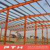 Almacén modificado para requisitos particulares casa prefabricada de la estructura de acero del palmo grande del diseño