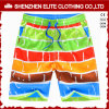 Commerce de gros personnalisé impression en sublimation Board Shorts (ELTBSI-12)