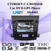 Jugador del coche DVD GPS de HUGO para Specail Citroen C-Crosser (SD-6402)