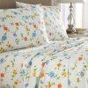 Juego de sábanas acolchadas para dormitorio Juego de sábanas 100% algodón / poliéster (sábanas / fundas de edredón / fundas de almohada)