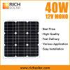 modulo solare monocristallino del comitato solare di 40W 12V mini