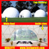 Claro em PVC transparente Branco Dome Geodésico de boa qualidade 2018