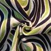 Linen напечатанная рейоном ткань рубашки (QF13-0201)