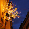 خارجيّة مهرجان نجم شارع [لد] زخرفة عيد ميلاد المسيح مخزن أضواء