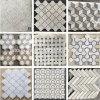 Billig Polier-/gestolpert/Carrara weiß/Schwarzes/Graues/Beige/Hexagon/Steinmarmormosaik-Fliesen für Fußboden/Wand/Badezimmer/Backsplash/Tisch/Muster