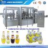 De automatische Sprankelende Machine van het Flessenvullen van de Drank van de Soda