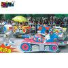China Proveedor Amusement Park 8 escaños cabalgata infantil mini tren eléctrico de depósito de la pista (KL6013)