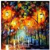 Vente en gros de peinture à couteaux de haute qualité, peinture à domicile, peinture artistique, peinture à l'huile décorative (Y308)
