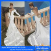 2014 Arrival novo Sexy Mermaid Wedding Dresses Deep V-Neck com Jewel Full Sleeve Backless Cathedral Train Bride Dresses
