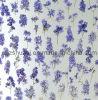 Harz-Panel mit purpurrotem Delphinium