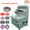 Patch de caoutchouc PVC Full-Automatic Making Machine