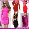2015 neues Großhandelsfrauen-Form Bodycon Rayonspandex-Abend-Abschlussball-Partei-Verband-Kleid (TX10601)