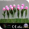 Света тюльпана PU материальные СИД украшения сада
