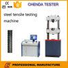 Máquina de teste universal hidráulica computarizada Waw-1000b para o teste de força elástica de aço da costa