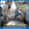 Piatto di alluminio dell'insegna di figura del triangolo