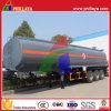 半炭素鋼の燃料ディーゼル液体タンクトラックのトレーラーのタンカー