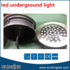 Rodada externa no solo RGB RGBW DMX Outdoor Inground Recessed Lights 36W 48W LED Underground Lamp