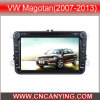 Reprodutor de DVD especial de Car para VW Magotan (2007-2013) 8  com GPS, Bluetooth. com o Internet de Dual Core 1080P V-20 Disc WiFi 3G do chipset A8. (CY-C370)