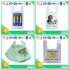Llanura de Plástico Reutilizables Bolsa de compras con mango