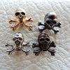 Джинсы черепа металлические заклепки для одежды (RV00116)