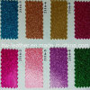Plutônio Leather de Artificial do Glitter para Shoes, Boots, Upholstery Hw-674