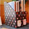 Populäres DIY kreatives Tischplattendatei-Zeitschriften-Papierkasten-Tischplattenkasten-Aufbewahrungsbehälter-Schwarz-Inneres