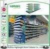 Mensola del metallo della scaffalatura della gondola della visualizzazione della cremagliera del supermercato