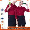 Uniforme de chef de vêtements de travail d'automne de Long-Chemise de cuisinier de coton