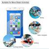 El teléfono móvil del PVC de la prueba universal del agua de la alta calidad encajona el bolso/la bolsa impermeables, bolso del teléfono celular de la prueba del agua