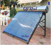 O SUS304 depósito externo em aço inox tubo de calor com aquecedor solar de água pressurizada direta