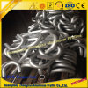 Tubo de aluminio con profundamente el proceso del CNC de doblez