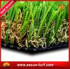 完全な美化の人工的な泥炭の庭の草