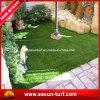 Estera sintetizada Custom Designed del césped de la hierba para el suelo y el balcón