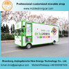 야채와 과일 판매를 위한 2017 신식 전기 이동할 수 있는 트럭