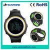 Steel Ring와 PU Brand (FR800NB 녹색)를 가진 스포츠 Watch