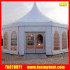 Aluminiumhexagon-Abdeckung-Pagode Carpas Zelt für Hochzeitsfest
