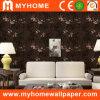 2016 le dernier PVC Deep Embossed Wallpaper avec Flowers
