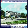 유연한 현대 조립식 집 빛 강철 별장