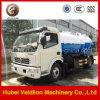Dongfeng 4X2 6000liter / 6cbm / 6m3 / 6ton / 6000L Caminhão de sucção de esgoto a vácuo