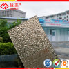 ポリカーボネートシートのダイヤモンドのシートによって浮彫りにされる固体パネルのプラスチック屋根ふき