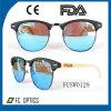Новые солнечные очки половинной рамки деревянные с тавром Cunstom